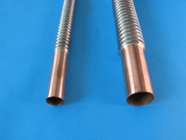 Plumbhose flexible stainless plumbing hose dn12 dn16 dn20 for Is copper pipe better than pvc